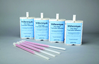 Millennium One Step™ foamable adhesive, elastomeric foamable adhesive, solvent free, for bonding insulation boards