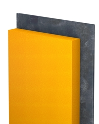PANEL PUR, PUR insulation panels with waterproofing membrane